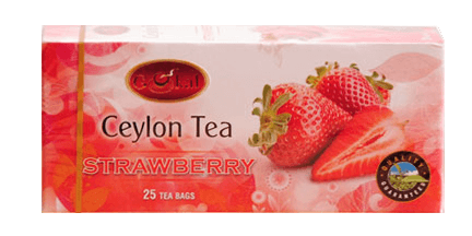 ceylon tea-strawberry tea