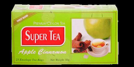 super tea-apple cinnamon tea