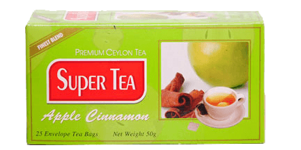 super tea-apple cinnamon tea