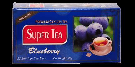 super tea-blueberry tea