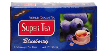 super tea-blueberry tea