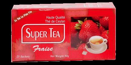 super tea-fraise tea