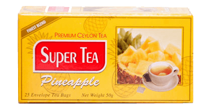 super tea-pineapple tea
